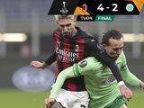 Milan venció al Celtic en el Grupo H de la Europa League