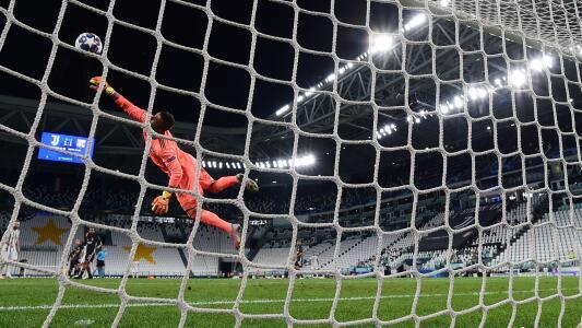 Gol de Cristiano al Lyon, elegido el mejor de la Champions 2019-20