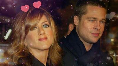 Jennifer Aniston y Brad Pitt buscan 'fuego en la cenizas'
