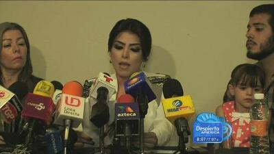 La supuesta 'Emperatriz del Ántrax' o 'Reina del narco' dio conferencia de prensa para aclarar rumores