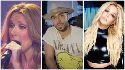 In the Mix:  Celine Dion, Romeo Santos and Britney Spears
