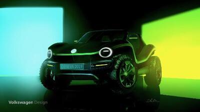El Buggy Volkswagen regresa electrificado