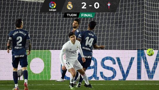 ¡Real Madrid sigue imbatible y suma 8 sin perder!