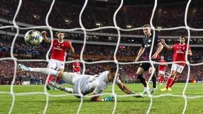 Benfica 1-2 RB Leipzig - Resumen y Goles - Grupo G - Champions League