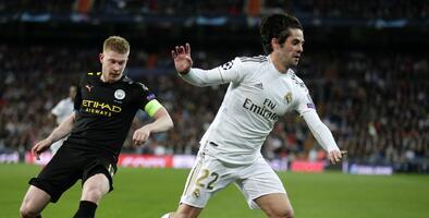 El Manchester City y el Real Madrid ya tienen alineaciones listas