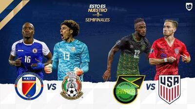 Cómo y dónde ver el partido Haití vs México de Semifinal de Copa Oro 2019