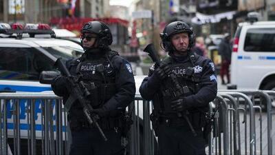 Nueva York, una de las ciudades más seguras de los Estados Unidos, según el Departamento de Policía