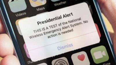 Este miércoles tu celular va a sonar en una prueba de alerta nacional que no tiene precedentes