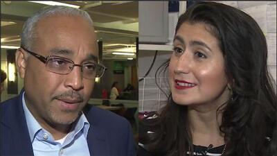 Los candidatos demócratas en las primarias por el distrito 13 de Queens al Senado Estatal de Nueva York