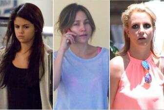 ¡Estas cantantes son otras sin maquillaje!