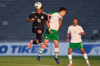 En fotos: México igualó sin goles con Irlanda y se enredó en el Esperanzas de Toulon