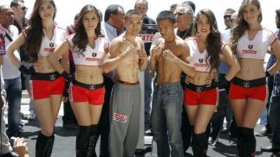Juan Francisco 'Gallo' Estrada listo para defender el título mosca ante Richie Mepranum
