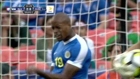 Uyy!! Casi gol. Rangelo Janga patea y da en el arco