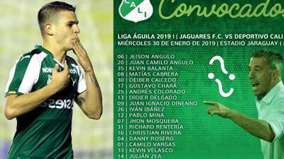 América, cerca de su primer refuerzo: Cali no convocó a Benedetti para duelo de Liga en Colombia