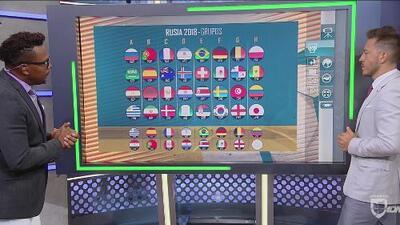 Carlos Pavón se animó a probar el pronosticador mundialista de Fútbol Club