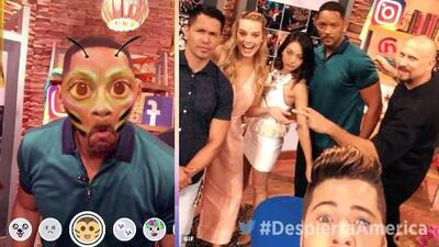 """El elenco de """"Suicide Squad"""" tomó nuestras redes sociales con ayuda de William Valdes"""