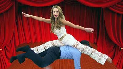 Las acrobacias de Ximena en Despierta América