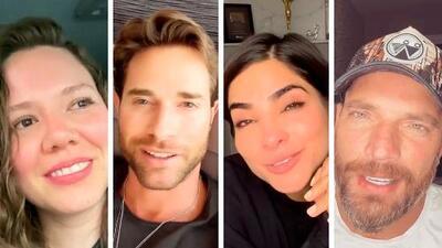 Las emotivas palabras de estos famosos que se sumaron al reto para valientes de Jesse & Joy