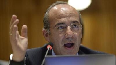 Expresidente mexicano Felipe Calderón asegura que no recibió dinero del Cártel de Sinaloa