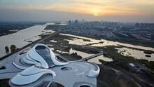 """La ciudad china que busca ser la """"Venecia del Oriente"""""""