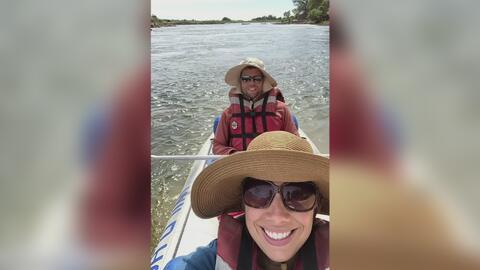 Momentos de terror vivió una mujer al ser atacada por un hipopótamo durante un safari