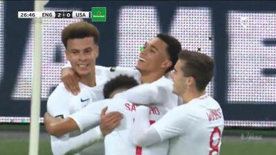 ¡GOOOL! Trent Alexander-Arnold anota para England