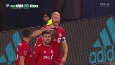 ¡DC United en problemas! Toronto FC se va al frente 2-1 al iniciar los tiempos extra