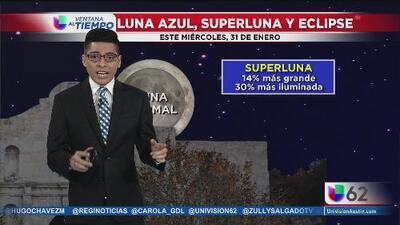 Luna Azul, super Luna y eclipse