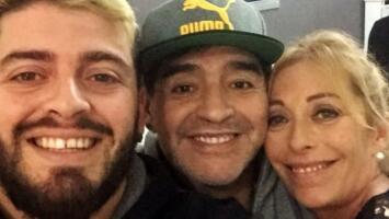 """""""Te perdonaría mil veces"""": la emotiva carta que Maradona recibió de su hijo Diego antes de su muerte"""