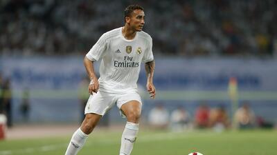 Danilo del Real Madrid será operado del talón esta semana