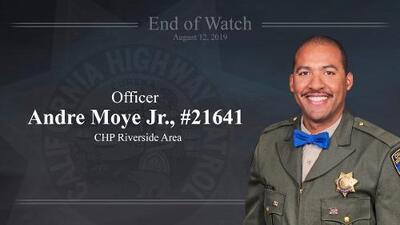 """Un oficial de CHP muerto y otros dos heridos tras un """"largo y horrible"""" tiroteo en plena autopista de California"""