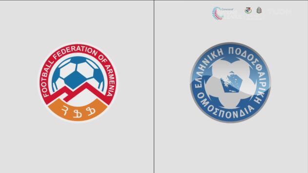 Armenia 0-1 Grecia  – Resumen y gol – Grupo J - Clasificación a la Eurocopa
