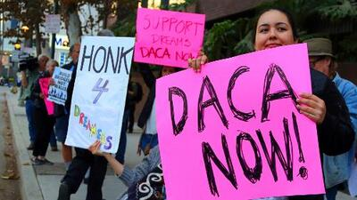 Juez federal bloquea temporalmente la decisión de Donald Trump sobre cancelación de DACA