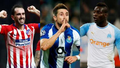 Los agentes libres mejor cotizados en medio del mercado de verano en el fútbol europeo