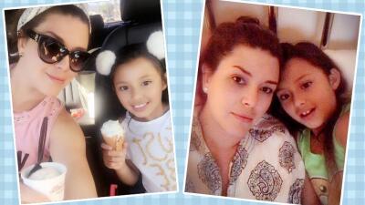 El álbum de fotos que muestra que Alicia Machado y su hija son inseparables