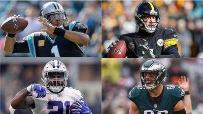 Los partidos que sacarán chispas en la Semana 10 de la NFL