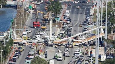 Según las investigaciones, ¿se puede hablar de negligencia por la caída de un puente en Miami?