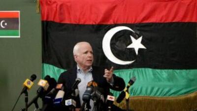 Republicanos y demócratas dicen que muerte de Gadafi es victoria para doctrina de Obama