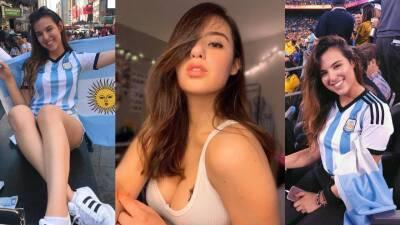 Pamela Bartschat y su pasión por la selección de Argentina