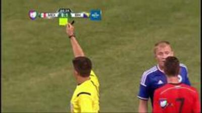 México vs Bosnia: Tarjeta amarilla para Sejad Salihovic