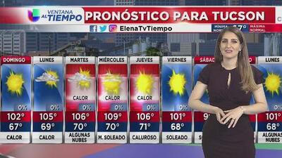 Seguirán las condiciones calurosas en distintas ciudades de Arizona