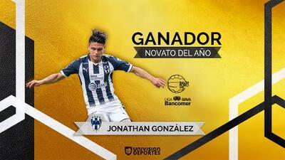 Jonathan González: ganador del Balón de Oro al Mejor Novato