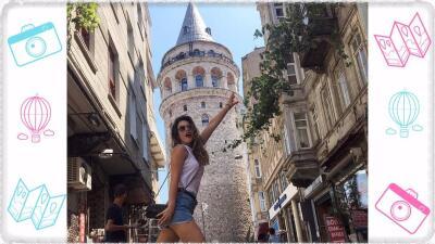 Fabiola Guajardo escapa de los foros de televisión para vacacionar en Estambul