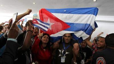 Enfrentamiento entre disidentes y castristas en Panamá