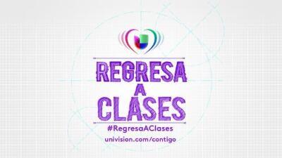 Este lunes comienza la temporada de Regresa a clases con Univision Contigo