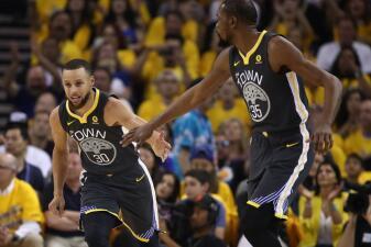 En fotos: Stephen Curry impone marca en las Finales NBA y los Warriors ganan