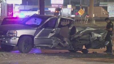 Trágico accidente vehicular al suroeste de Houston cobra la vida de tres hombres