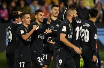 En fotos: sin Néstor Araujo, el Celta de Vigo fue goleado por el Real Madrid
