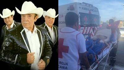 Así fue el aparatoso accidente del grupo Miguel y Miguel, donde su líder resultó gravemente herido