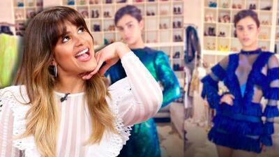 En video: como nunca lo había hecho, Clarissa Molina escoge con sus fans el vestido para Premios Juventud
